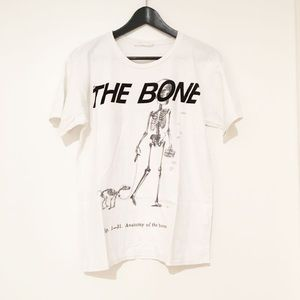 Zara W&B Collection To The Bones Graphic Tee